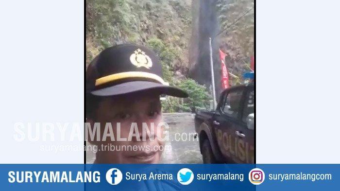 Air Terjun Sedudo Di Kabupaten Nganjuk Sempat Berwarna Hitam Pekat