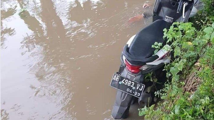 Motor Terjun ke Sungai Dangkal di Ponorogo, Remaja 16 Tahun Tewas