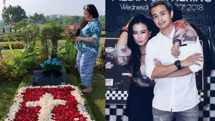 Gerak-gerik Ajun Perwira Nyekar ke Makam Suami Jennifer Jill, Sikap Tak Terduga Ini Langsung Disorot