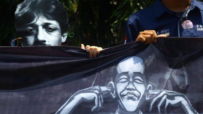 Mahasiswa Universitas Brawijaya Malang Peringati 17 Tahun Kematian Aktivis Munir, Tuntut Pemerintah