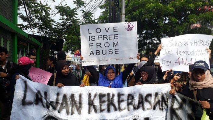 Ini 10 Tuntutan Aliansi Masyarakat Tolak Kekerasan Seksual Di Kota Malang