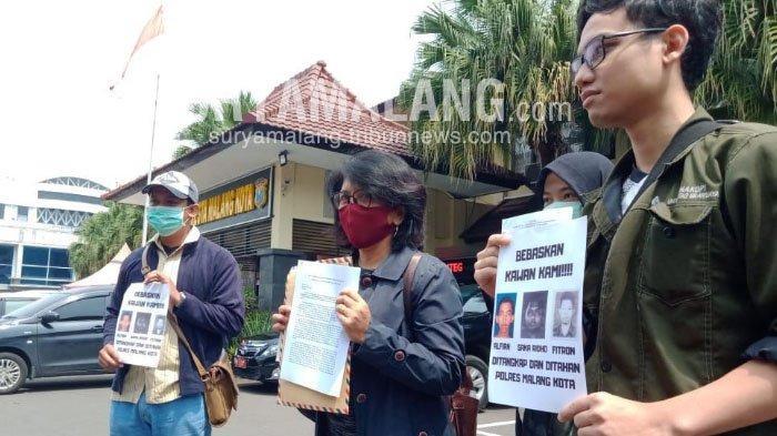 Aksi Kamisan Desak Polresta Malang Kota Bebaskan Tiga Aktivisnya yang Ditangkap