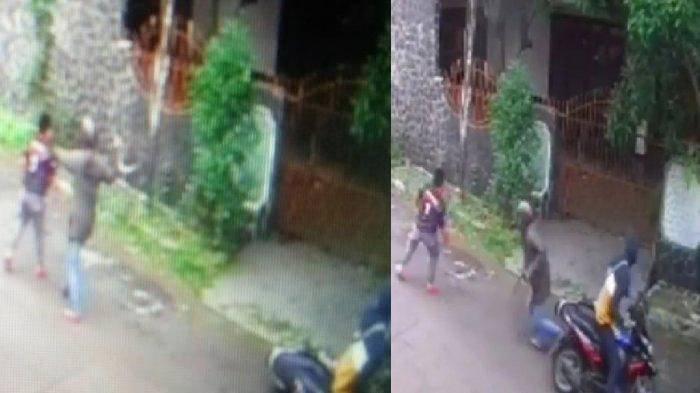 Aksi Nekat Bocah SD Lawan 2 Begal Demi Motor Terekam CCTV, Diancam Celurit, Lolos saat Warga Datang