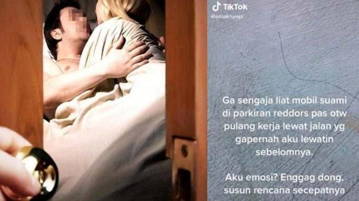 Aksi Istri Sah Pergoki Suami Ngamar Bareng Wanita Lain Viral, Bukan Emosi Malah Telpon Mertuanya