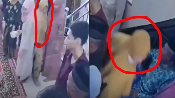 Aksi Emak-emak Kondangan Diduga Curi Emas, Terekam CCTV Naik ke Lantai 2 saat Tuan Rumah Sibuk Foto