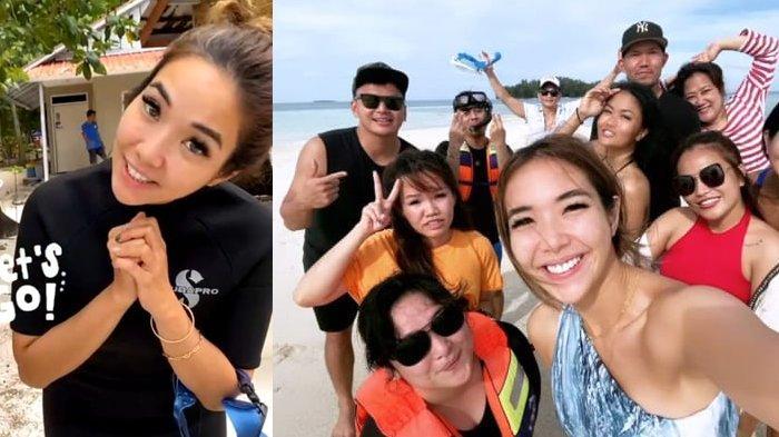 Aktivitas Gisel Setelah Resmi Jadi Tersangka Kasus Video Syur, Santai Liburan Bareng Wijin di Pantai
