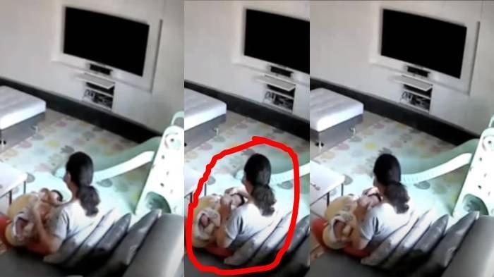 Ibu Curiga Susu Bayinya Cepat Habis, Setelah Lihat CCTV Kelakuan Pengasuh Membuatnya Naik Pitam