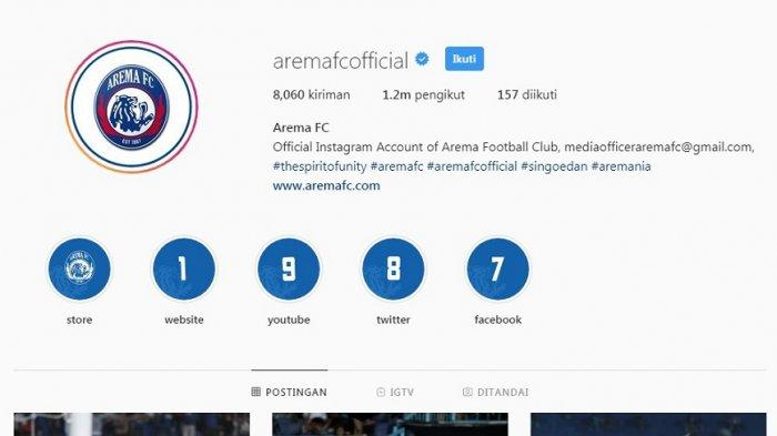 Admin Instagram Arema FC Disemprot Netizen Gara-gara Caption, Ada yang Sindir Gaji Admin Nunggak