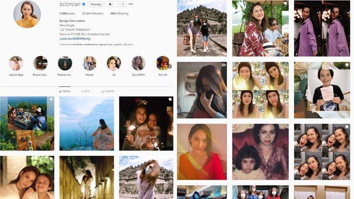 Akun Instagram BCL Penuh Foto Bersama Noah Sinclair