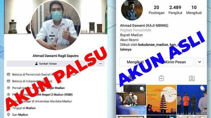 WASPADA! Penipuan Catut Nama Bupati Madiun, Ahmad Dawami Ragil Saputro
