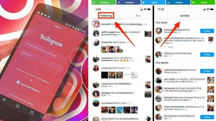 Alasan Instagram Hapus Fitur Following, Pengguna Gak Bisa