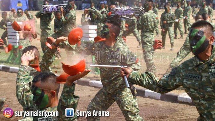 TNI Unjuk Kebolehan di Lapangan Rampal, Kota Malang Hari ini hingga 7 Oktober 2018