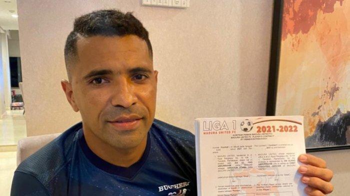 Alberto 'Beto' Goncalves Teken Kontrak Baru di Madura United untuk Musim 2021