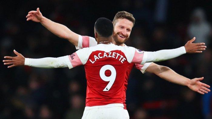 Arsenal Menang dan Menggusur Manchester United dari Zona Liga Champions Liga Inggris