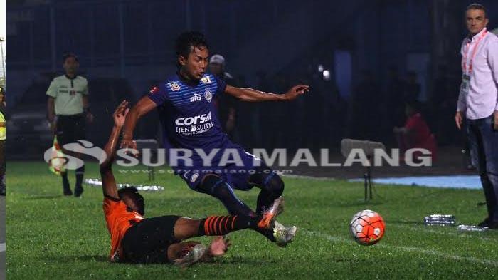 Cedera Tumit, Bek Arema FC, Alfarizi Tak Bisa Gabung Timnas Indonesia