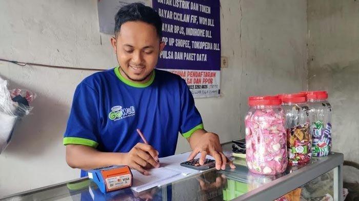 Nekat Berhenti Kerja dan Fokus Jadi Agen BRILink, Pemuda Desa Ini Layani 500 Transaksi/Bulan