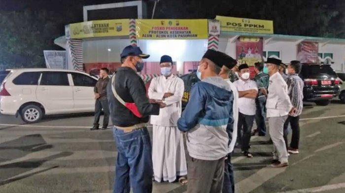 Gus Ipul Mulai Tata PKL dan Parkir Alun-Alun Kota Pasuruan, Ini Tujuannya