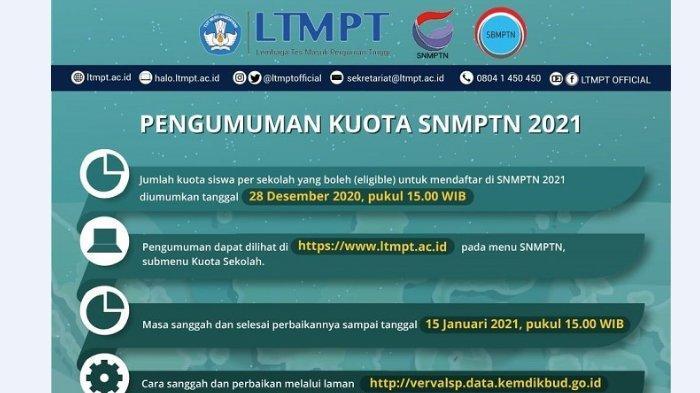 7 Langkah Lengkap Pendaftaran SNMPTN 2021, Mulai Pukul 15.00 WIB Hari Ini