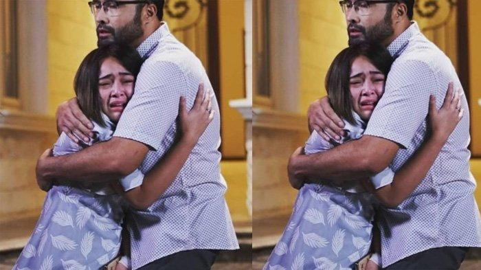 Amanda Manopo dan Surya Saputra dalam adegan sinetron Ikatan Cinta