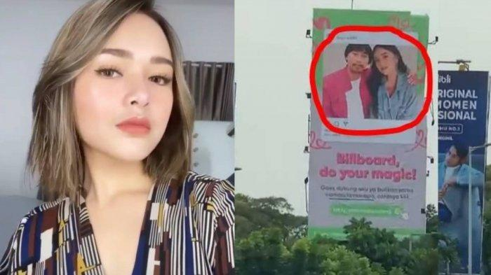 Amanda Manopo 'Labrak' Pria Berkumis yang Pajang Fotonya di Billboard Tanpa Izin, Ditunggu 1x24 Jam