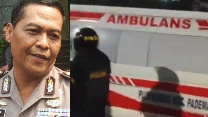 Viral Mobil Ambulans Membawa Batu, Bensin dan Kembang Api Demonstran, Ini Fakta Baru Temuan Polisi