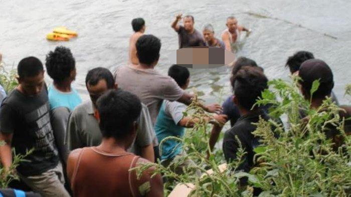 Kepleset Saat Mencari Ikan, Seorang Bocah Meninggal Tenggelam di Sungai Brantas Mojokerto