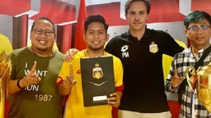 Andik Vermansah Resmi Jadi Pemain Bhayangkara FC, Ternyata Paul Munster Sudah Kagum Sejak Lama