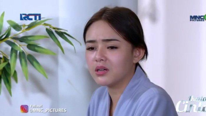 Andin sedih memikirkan ucapan Sumarno adegan sinetron Ikatan Cinta Minggu 25 Juli 2021