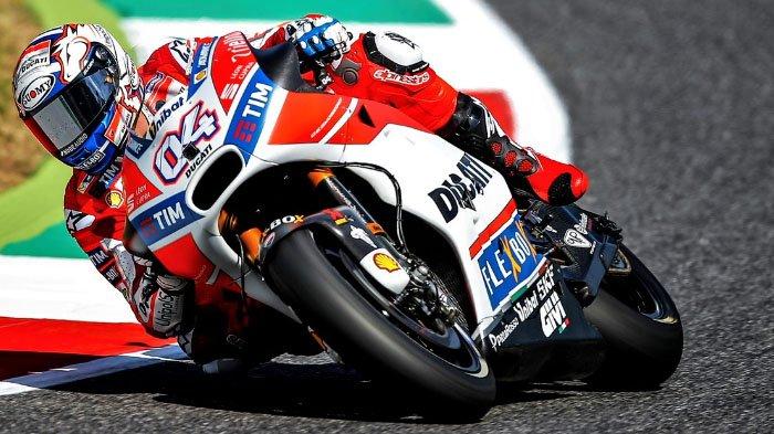 Hasil MotoGP Republik Ceska, Duel Panas Ducati, Valentino Rossi Gagal Podium