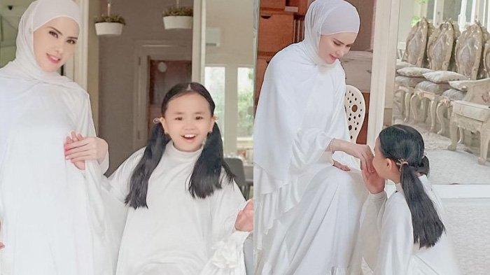 Anak Sultan Kalah, Angel Lelga Beri THR Emas Batangan ke Putri Kecilnya, Bonus Puasa Sebulan Penuh