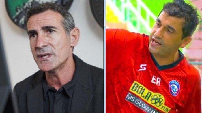 Persija Vs Arema FC Bakal Diselimuti Aroma Italia dan Portugal, Reuni 2 Pelatih Berdarah Eropa