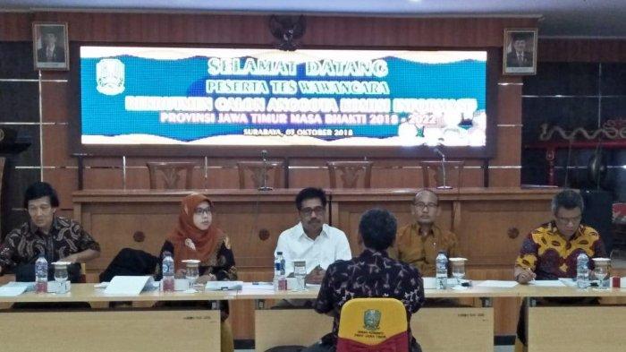 34 Calon Anggota Komisi Informasi Jatim Jalani Tes Wawancara di Surabaya