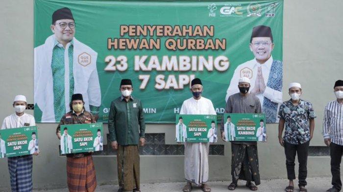 Anggota DPR RI Gus Ali Salurkan Hewan Kurban Idul Adha 2021 ke Sejumlah Pesantren di Malang Raya