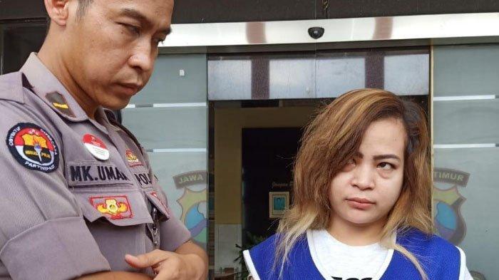 Demi Upah Rp 15 Juta, Janda Asal Batam Selundupkan Narkoba dari Malaysia ke Surabaya