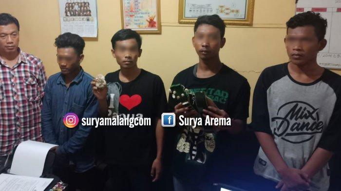 Empat dari Enam Pengeroyok di Kafe Wilayah Tuban Masih di Bawah Umur