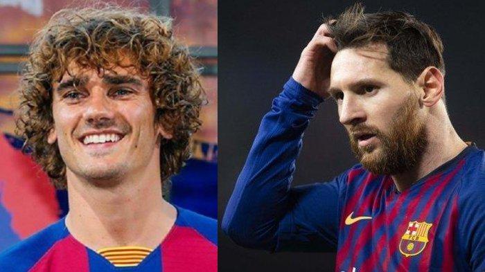 Jelang Lawan Inter Milan, Griezmann Masih Dicap sebagai 'Anak Tiri' di Barcelona, Messi Cuek Banget