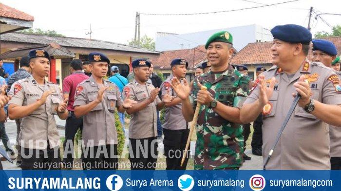 12 Kompi Brimob Polda Jatim Dilibatkan Pengaman Pemilu 2019