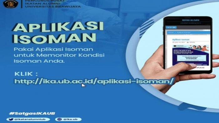 Satgas IKA UB Bikin Aplikasi Isoman untuk Pantau Perkembangan Pasien