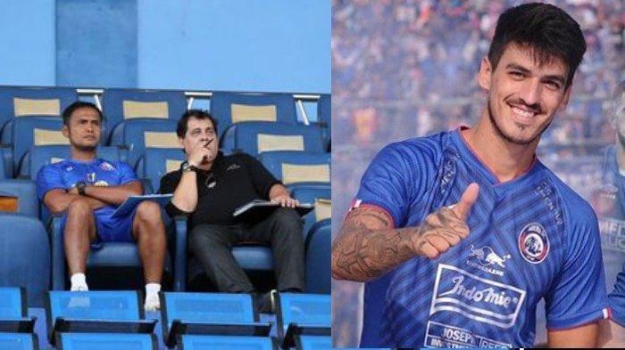 Berencana Beli Pemain Asing Sebelum Liga, Arema FC Isyaratkan Matias Malvino Sudah Tak Bergabung