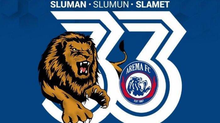 Manajemen Lepas Hak Cipta Logo Ultah ke-33 Arema FC, Siapa Saja Bisa Pakai, Termasuk untuk Komersial