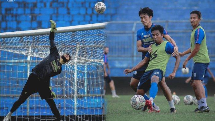 Arema FC Masih Berlatih di Stadion Kanjuruhan, Persebaya dan Persik Berangkat ke Solo dan Yogyakarta