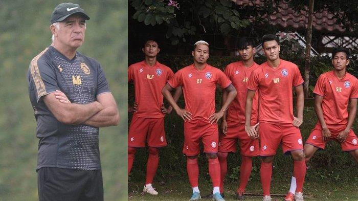 Jelang Arema FC vs Tira Persikabo, Mario Gomez Siapkan 5 Jurus di Liga 1 2020, Soroti 2 Penyerang