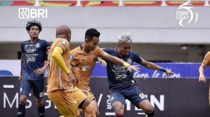 Ditahan Imbang Arema FC 1-1, Bhayangkara FC Kecewa dengan Keputusan Wasit