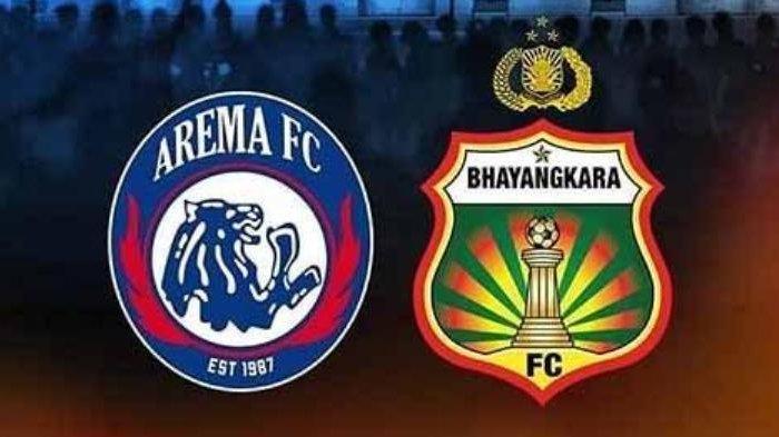 Susunan Pemain Arema FC Vs Bhayangkara FC - 4 Pemain Asing Perkuat Singo Edan