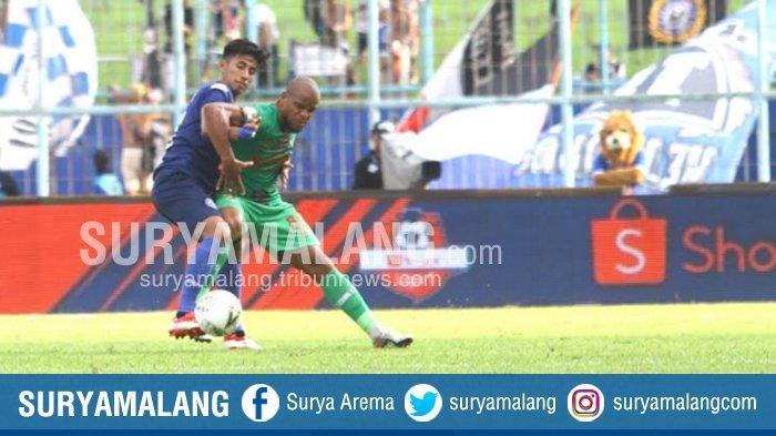Hasil Skor Akhir Arema FC Vs Kalteng Putra Adalah  1-1 Laga Liga 1 2019, Diwarnai Kartu Merah