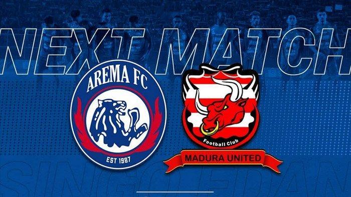 Live Streaming Arema FC vs Madura United Liga 1, Jumat 8 November Kick Off 15.30 WIB