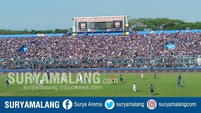 Dari 30.000 Tiket Arema FC Vs Barito Putera yang Tersedia, Baru 65 Lembar yang Terjual