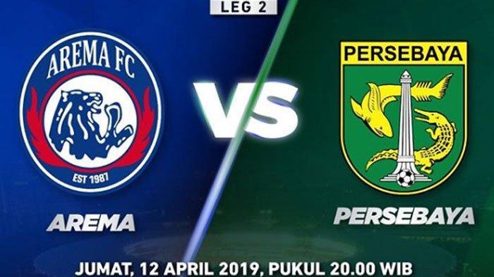 LIVE STREAMING Arema FC Vs Persebaya Surabaya Final Piala Presiden 2019, Baru Berlangsung Nyaris Gol