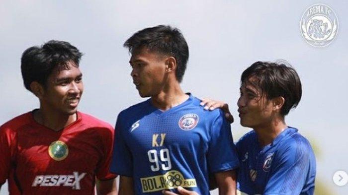 Arema FC Menang 4-2 saat Uji Coba dengan PS Hizbul Wathan di Stadion Wonoayu