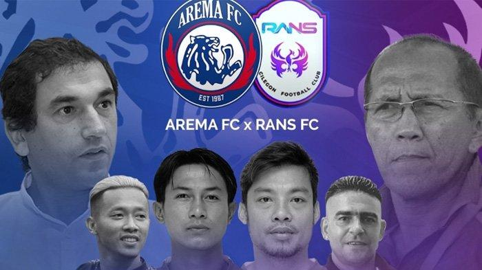 5 Fakta Jelang Laga Arema FC Vs RANS Cilegon FC, Tiket Ludes Terjual 33.611, Emban Misi Berbeda